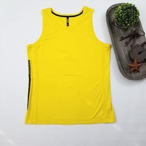 Soulcycle Ten Thousand  yellow sleeveless shirt